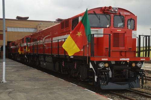 transport ferroviaire   camrail met ses 5 nouvelles locomotives en service