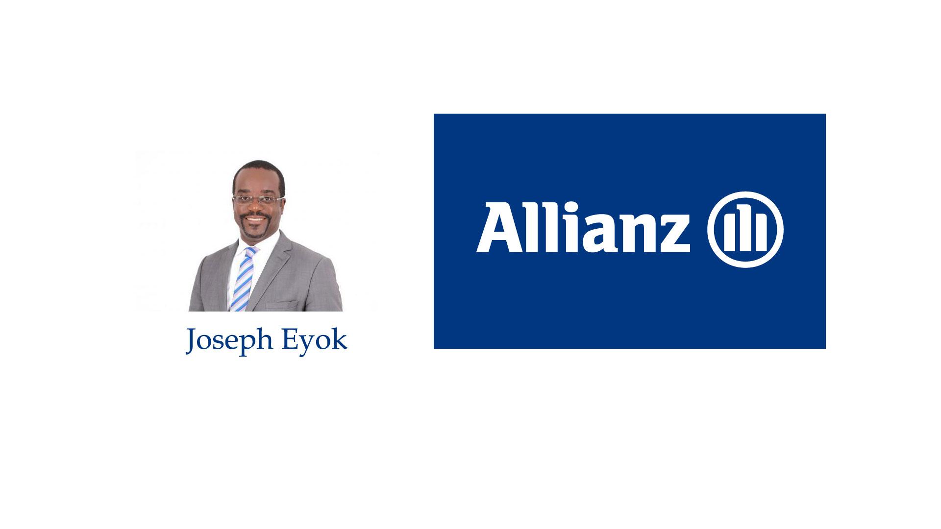 joseph eyok d'Allianz Congo Assurances