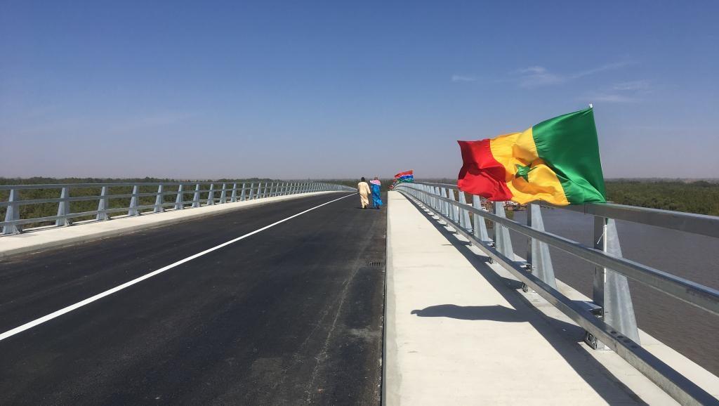 Pont Senego Gambie