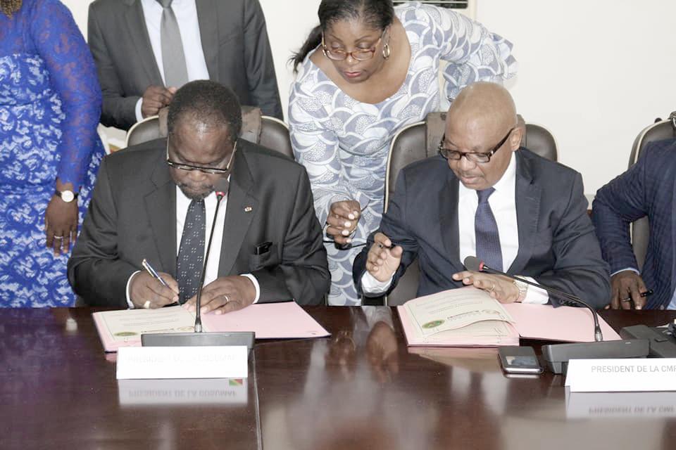 Signature de la convention de coopération