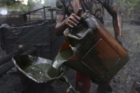 vol de pétrole brut