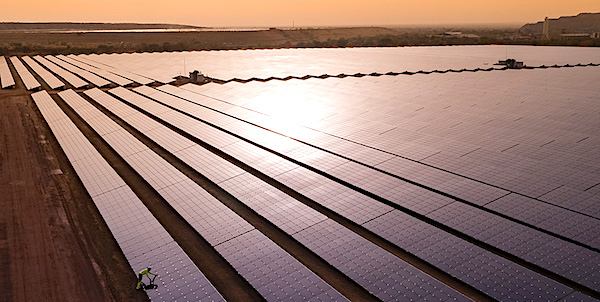 centrale solaire d'Essakane