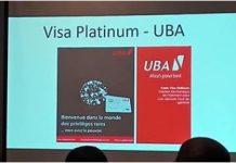 UBA Visa Platinium