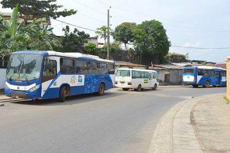 Bus gabon